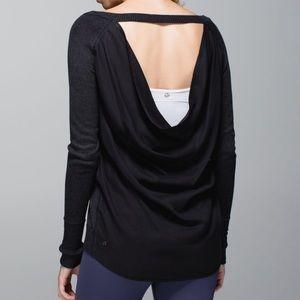 Lululemon Unity Pullover Heathered Black / Black